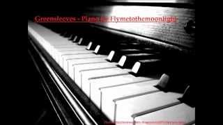 Greensleeves on piano