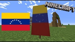 How to make the Venezuelan flag in Minecraft!