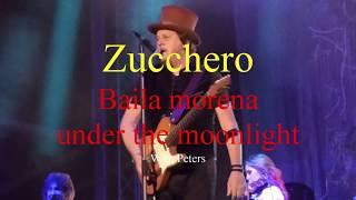 2018 Bospop ZUCCHERO baila morena under the moonlight سكر 糖 चीनी gula