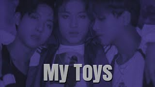 Gambar cover my toys || nct dream [ fmv ]