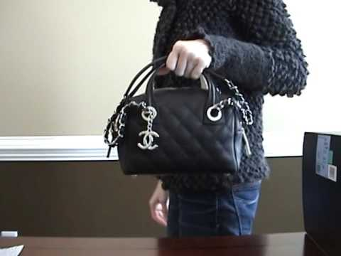0c4a10262c51 Chanel Bowling Bag Review - YouTube