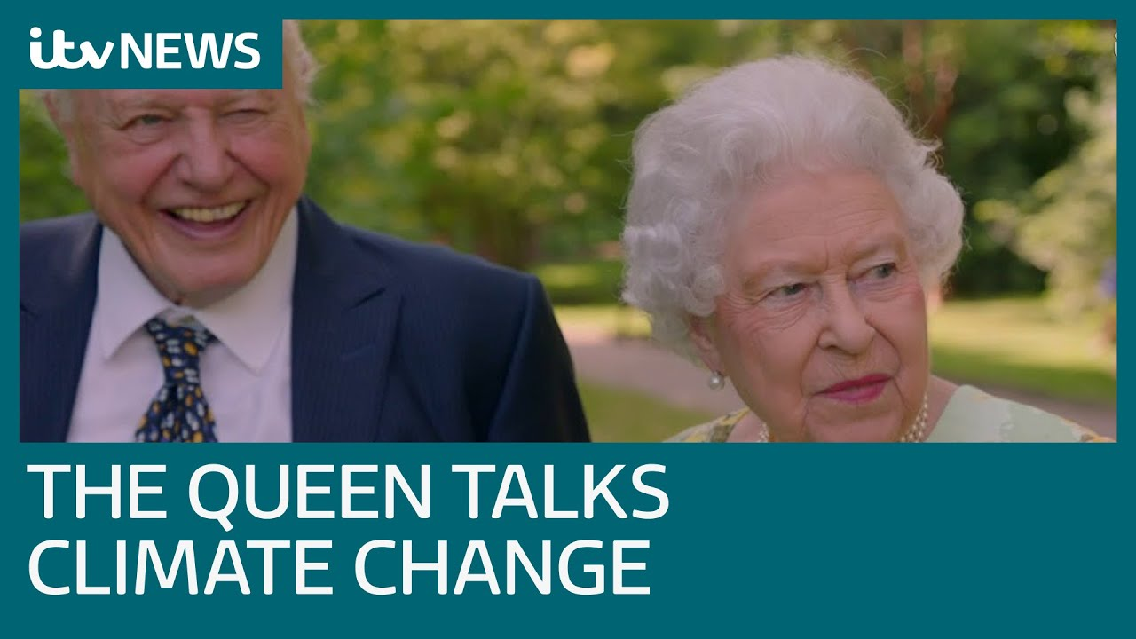 The Queen and David Attenborough come together in an amazing bid to save the environment