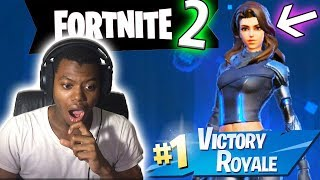 CAN NO SKINS GET A DUB? (EPIC BATTLE ROYALE) - Fortnite 2!