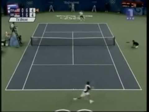 Novak Djokovic vs. James Blake-Beijing 2008 Olympic Games