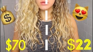 Half Drugstore & Half Salon Quality HAIR Products for WAVES and CURLS | DUPE?!