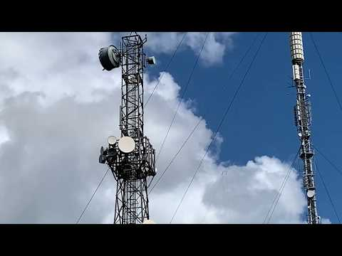 The Beckley Radio/TV Transmitter Mast In Oxford: 165.7 Metres In Height
