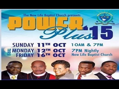 Prophet Brian Carn British Virgin Island Power Plus 2015 Conference 10/16/15 @prophetcarn