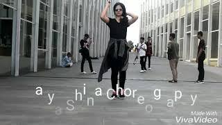 JOGET AISYAH JATUH CINTA MALU-MALUIN DITEMPAT UMUM || Choreo aby Natya Shina & Rendy
