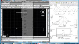 Basic Geometry in AutoCAD Exercise 12 Shed Plan