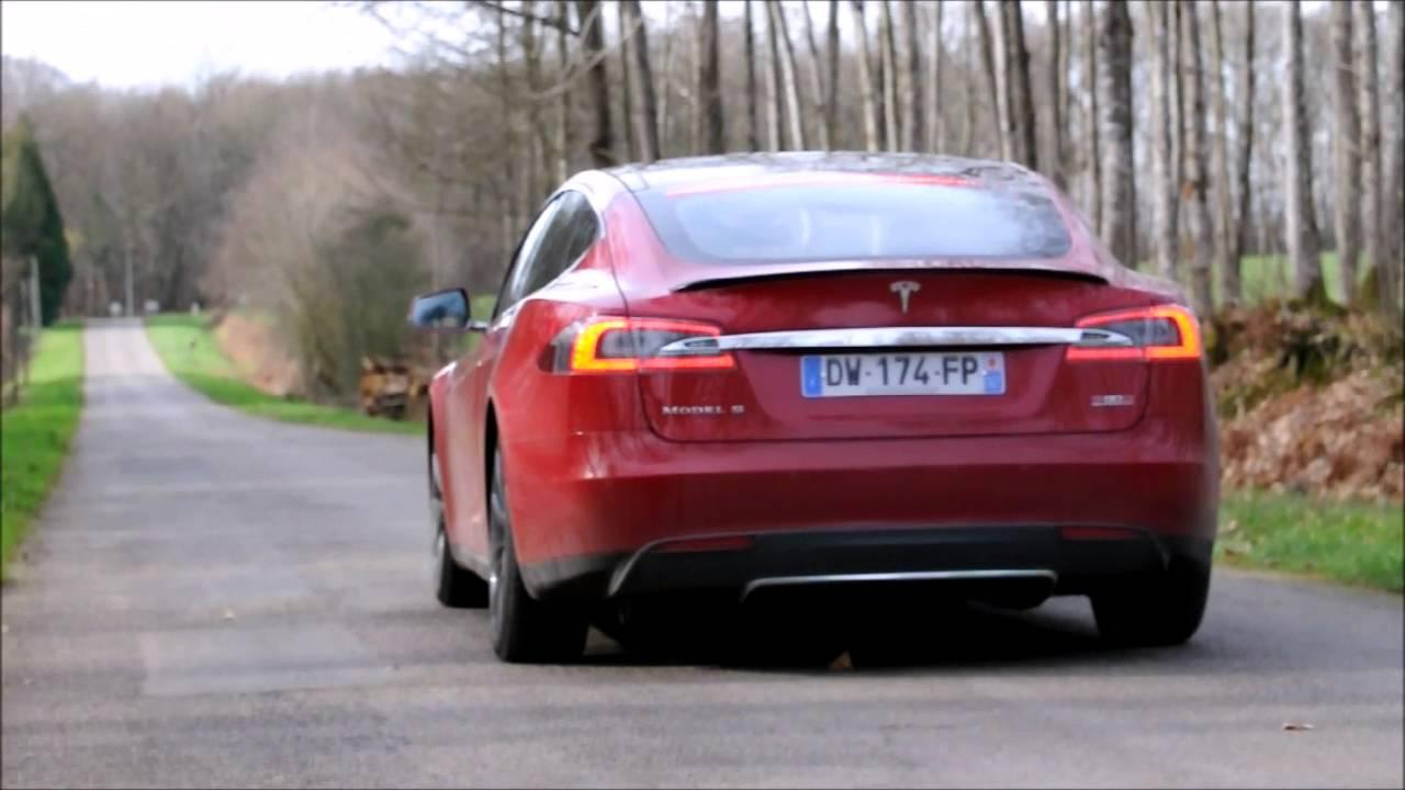Tesla car acceleration