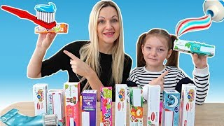 NU Alege PASTA de DINTI Slime Challenge | Don't Choose Toothpaste Slime Challenge | Will It Slime?