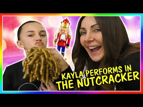 KAYLA PERFORMS IN THE NUTCRACKER BALLET | We Are The Davises