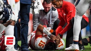 Does Patrick Mahomes' knee injury end the Kansas City Chiefs' season? | NFL 2019