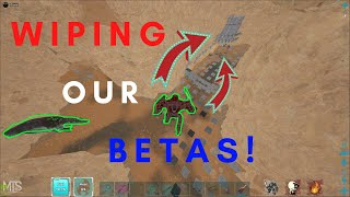 ONLINE FOBBING OUR BETAS! | MTS S5 EP:3 | ARK: SURVIVAL EVOLVED