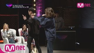 [Unpretty Rapstar]ep.06: Jimin(지민) vs Cheetah(치타) #4 track mission final 1:1 battle