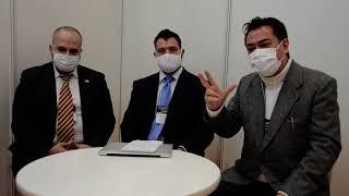 Entrevista a empresarios mexicanos en Foodex, Japón, 2021