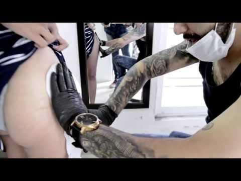 Roses tattoo by  Irving Castañeda IV(La Catrina Tattoo Shop)