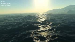 XNA Planet Renderer - Terrain & Ocean