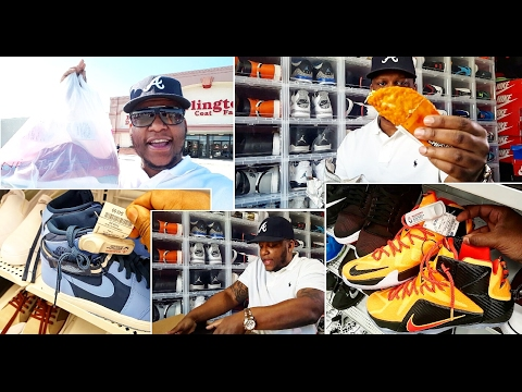 DISCOUNT SHOPPING VLOG AND EARLY JORDAN UNBOXING!!!