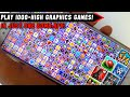 🔥[60MB] Play 1000+ High Graphics Android Games Only One Apk 60Mb | Without Download