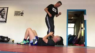 Defending vs Stomping Kick on the Ground, with Amnon Darsa at Expert Camp, IKMN.