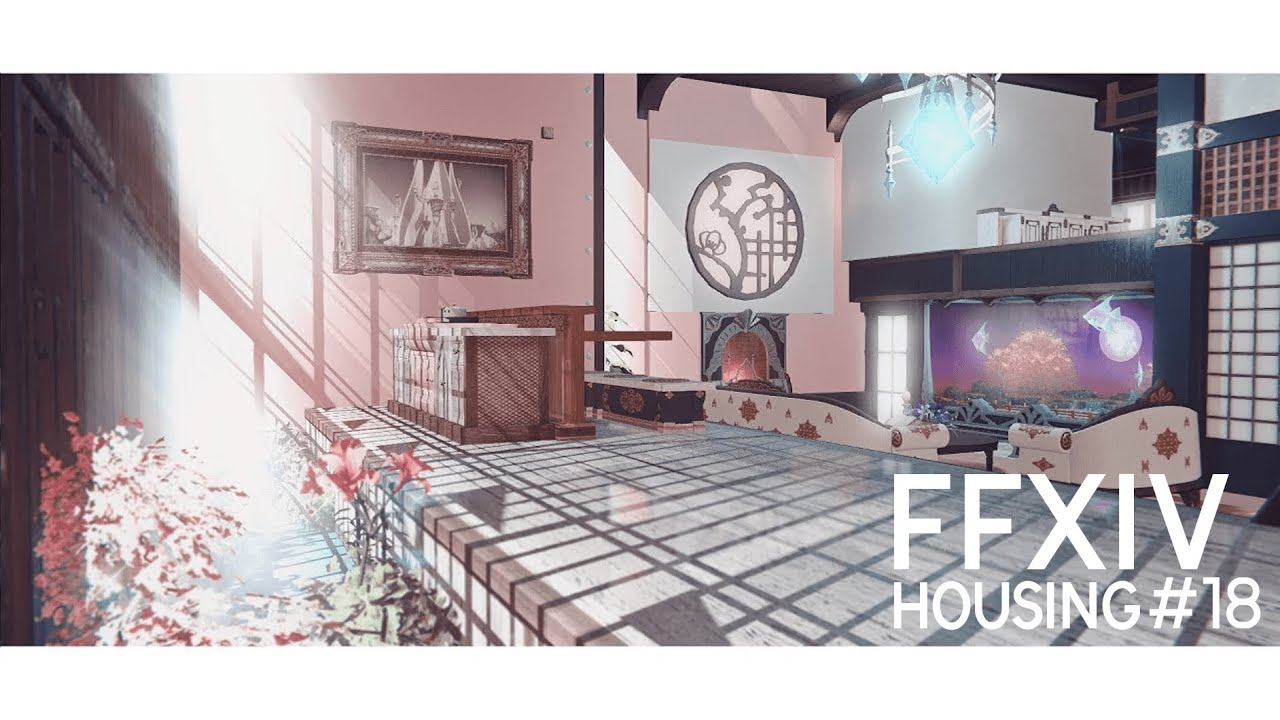 FFXIV HOUSING - Blossom Moon - Youtube Video Download Mp3 HD
