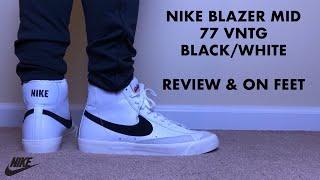 Nike Blazer Mid 77 Vintage White and
