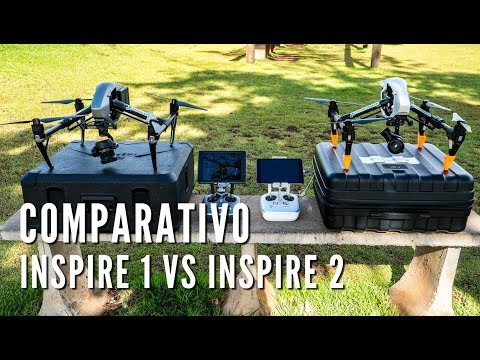 COMPARATIVO DJI INSPIRE 1 VS INSPIRE 2