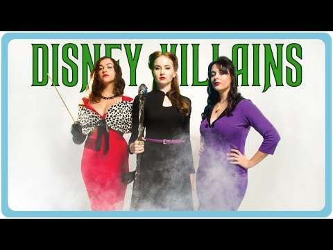 Behind the Scenes on the Shipwrecked Ladies' Disney Villains Shoot!