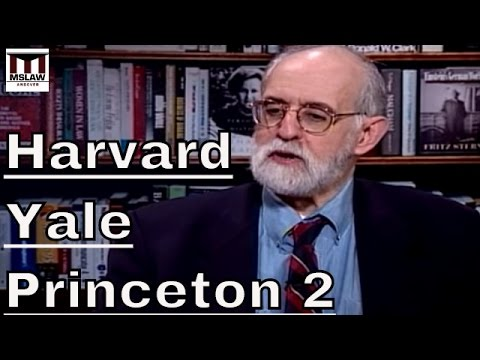 The History of Discrimination at Harvard, Yale, and Princeton Part 2