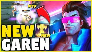 *THIS BROKE THE GAME* REWORKED GAREN GAMEPLAY (RIOT WENT TOO FAR) - League of Legends