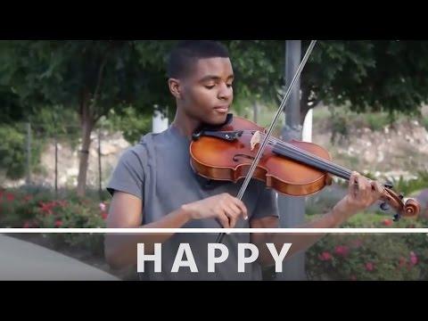 Pharrell Williams - Happy - Jeremy Green - Viola Cover
