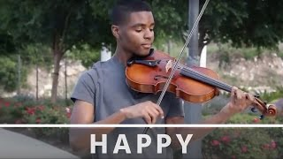 Pharrell Williams - Happy - Jeremy Green - Viola Cover