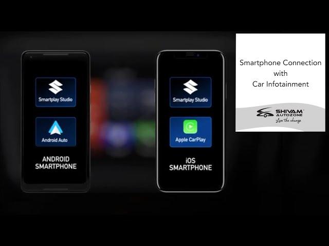 Smartphone connection with Car Infotainment | Shivam Autozone
