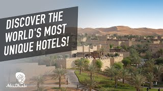 Abu Dhabi's unique hotels | Nas Daily