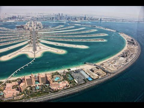 Constructing Palm Jumeirah Dubai — Palm Island Dubai — Megastructure - Nakheel - YouTube