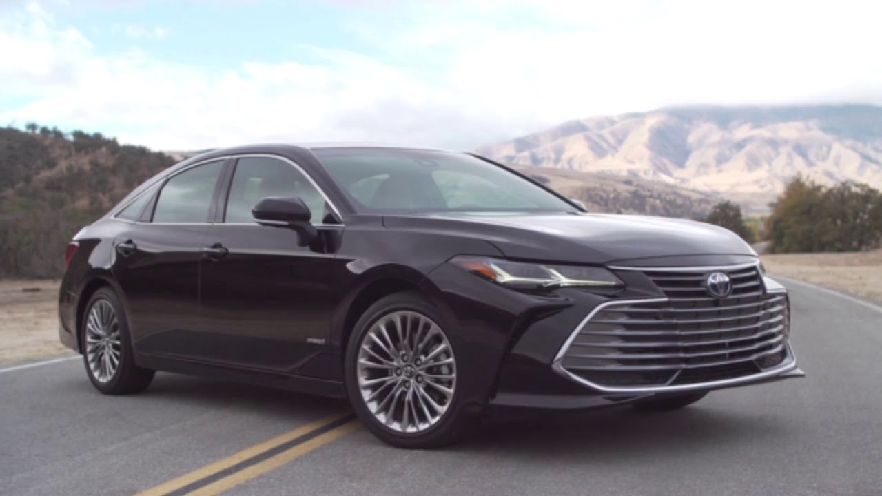 2019 Toyota Avalon Led Headlights Amp Tail Lights Youtube