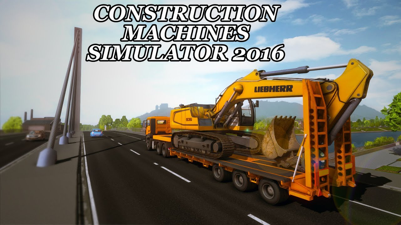 Construction Machines Simulator 2016 Lets Play Episode 13 Building A House Youtube