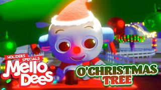 O Christmas Tree - Mellodees Kids Songs & Nursery Rhymes | Holiday Music