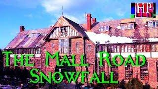 The Mall Road Shimla After The Snowfall