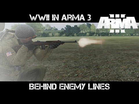 Behind Enemy LInes - WWII in ArmA 3 - Liru as Zeus