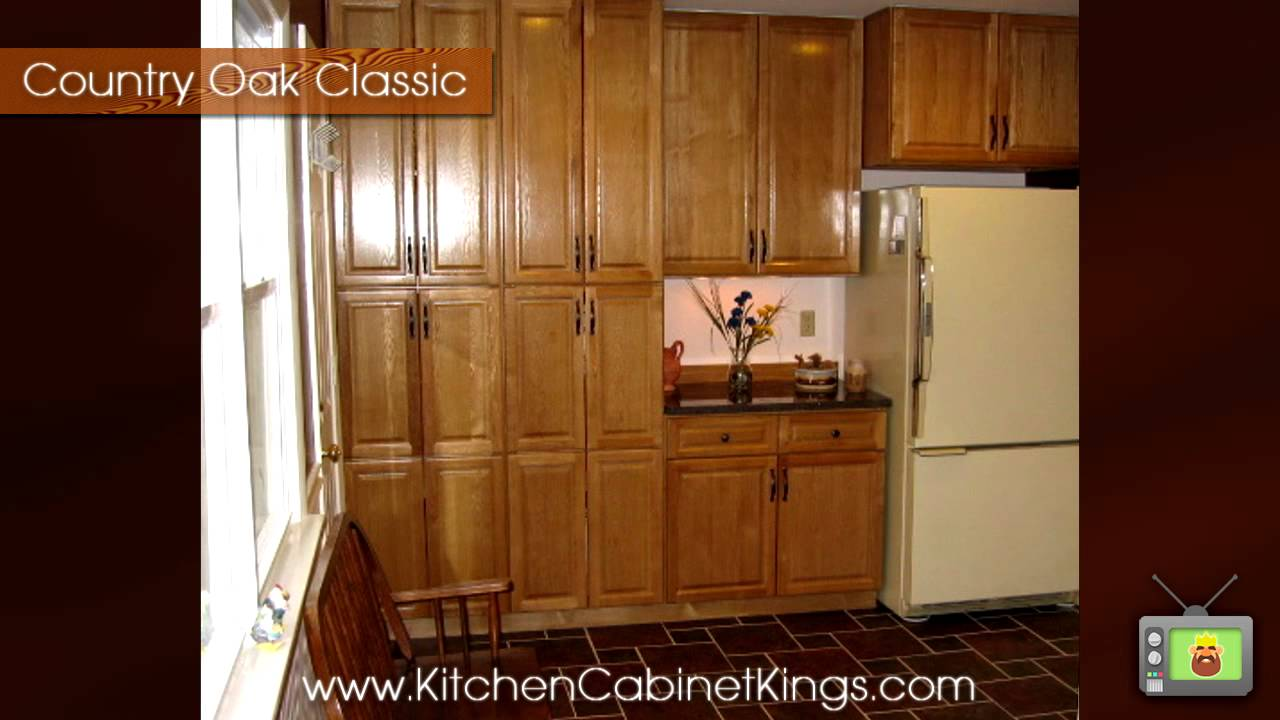 oak cabinets kitchen appliance cabinet country classic by ...