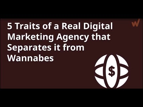 5 Traits of a Real Digital Marketing Agency that Separates it from Wannabes