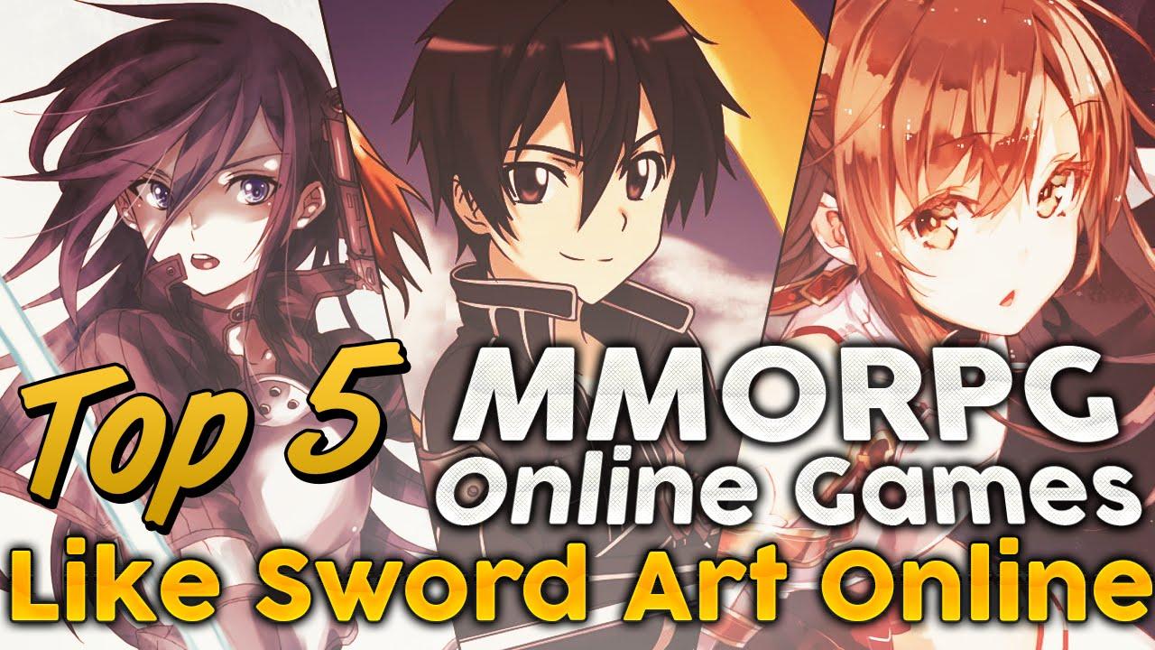 Top 5 MMORPG Online Games Like Sword Art 2014 2015