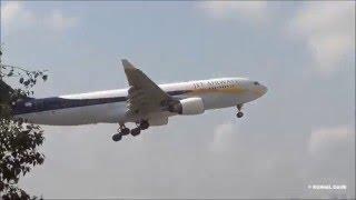 Jet Airways & Etihad Airways Airbus A330 Landing at Mumbai International Airport