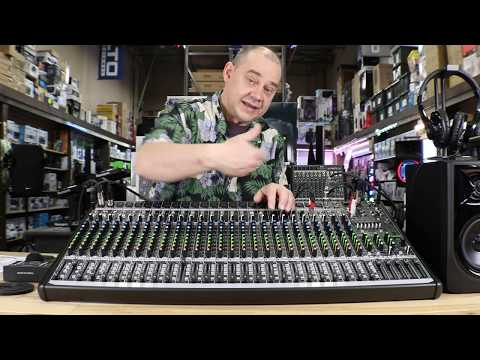 Review the Features of the Mackie ProFX30v2 How to Setup 4 bus and 3 monitors on the Audio Mixer