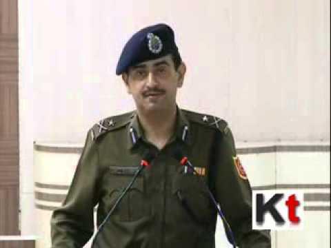 IG Law & Order Anuj Sharma Press Interaction