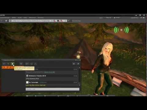 Second Life QuickTips - Meeting and Making Friends