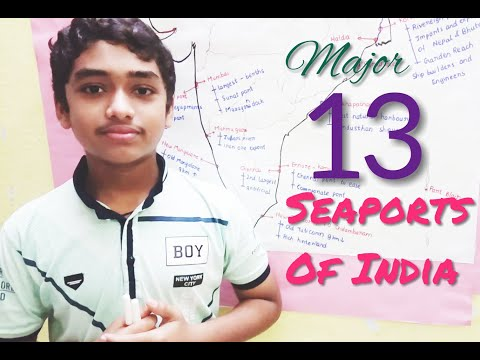 Seaports of India Easy way to Learn