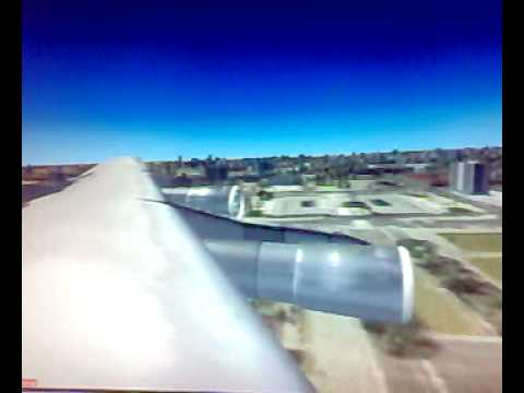 boeing 707 land on  khartoum